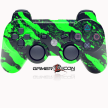 PS3 Savage Green Controller