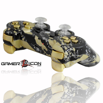PS3 Savage Gold Rapid Fire Controller